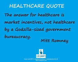 healthcare quote of the week would you agree with mitt romney on this