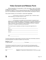 Video Consent Form Magdalene Project Org