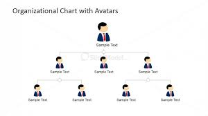 Chart Organization Design 3 Levels Org Chart Powerpoint Slide Design Slidemodel