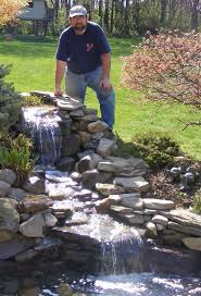 Backyard Pond And Waterfall Designs Backyard Waterfalls And Ponds Found On