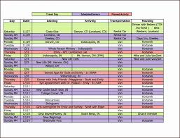Free Trip Itinerary Planner Travel Itinerary Template Excel Disney Trip Planner