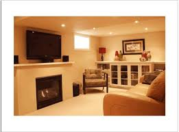 basement remodel ideas. Interior Design: Small Basement Remodeling Ideas With Fireplace And Sofa - For A Remodel S