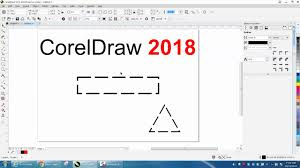 @david bevins i want to make dotted worksheet of clip art pictures. Corel Draw Tips Tricks Coreldraw 2018 Dotted Or Dashed Lines Corners Youtube