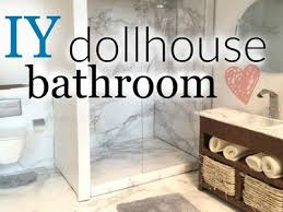 diy doll bathroom pt 1