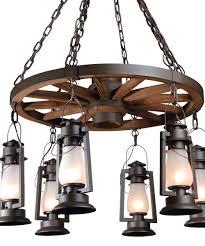 pioneer rustic chandelier