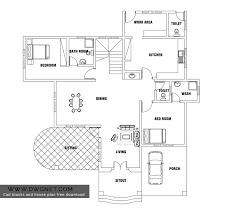 european style two bedroom house plan dwg net cad blocks and bed room small free with file from d