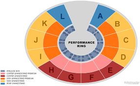Chene Park Seating Chart