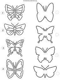 Farfalle Di Carta Da Ritagliare Casamagenta