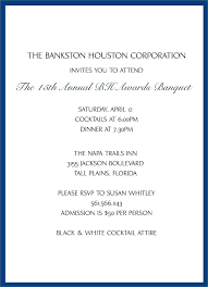Formal Invitation Letter For Event Invitation Letter For Corporate