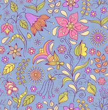 Free Floral Backgrounds Seamless Floral Background Vector Illustration Of Backgrounds