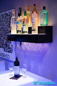 modern design glass shelves for liquor bottles 24 2 tier wall mounted liquor display bar shelves
