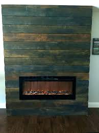 faux fireplace insert fake flame ideas electric stacked wood diy