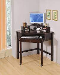 small corner wood home office. Impressive Mesmerizing Small Office Desk Home Solid Maple Wood Construction Pertaining To Desks Popular Corner