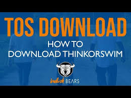 Thinkorswim Charts Download Thinkorswim Download And How To Download Thinkorswim