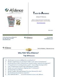 Taste of Afidence March 2013 | Share Point | Chief Information Officer