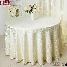 china polyester wedding large round table cloth china jacquard table cloth round table cloth