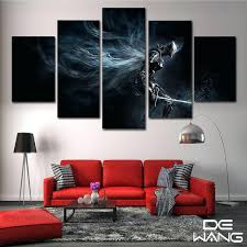 5 panel canvas art abstract set animal movie framed picture wall home decorative dark souls print 5 panel canvas art  on 5 panel wall art uk with 5 panel canvas art dragon ball z master wallpaper wall uk crystalfrost