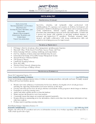 Cover Letter Data Analyst Resume Data Analyst Resume Indeed Data