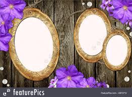 Paper Frames Templates Templates Vintage Paper Frames Over Grunge Wood Background