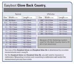 Boot Wide Size Chart Easycare Range Compare Sizing Fitting Here