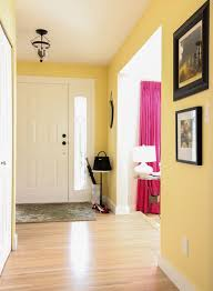 Painting adjoining rooms different colors Connecting Rooms Entryyellow Maria Killam Tour My House Learn The Best Ways To Transition Colour Maria