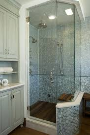 tampa clear glass tile with medium tone wood bathroom vanities tops transitional and rain shower benches