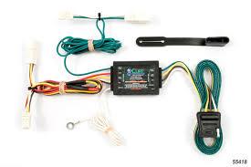 toyota sienna 1998 2003 wiring kit harness curt mfg 55418 toyota sienna trailer wiring kit 1998 2003 by curt mfg 55418