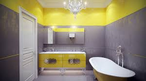 Yellow Bathroom Decor Powerful And Pretty Yellow Bathroom Design - Yellow and white bathroom