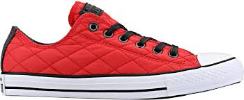 Converse 149551C Chuck Taylor All Star Low Quilted Adult Lifestyle ... & Chuck Taylor All Star Low Quilted Adult Lifestyle Shoe (Casino/White) Adamdwight.com