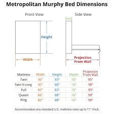 Murphy Bed Sizes Inside 127 Best Camas Plegables Images On Pinterest