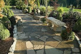 flagstone walkway installation cost per foot walkways