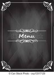 Chalkboard Menu Board Chalkboard Menu Design