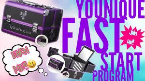 how to get younique purple trunk younique selfie trunk fast start program makeup city