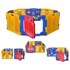 new baby playpen kids 8 panel safety play center yard home indoor outdoor pen 0