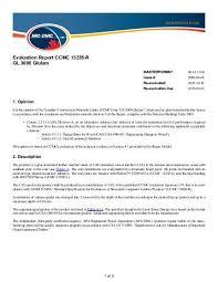 Evaluation Report Classy Evaluation Report CCMC 44R RigidLamLVL National