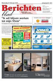 Berichtenblad 27 02 2019