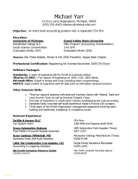 Entry Level Accounting Resume Samples Grand Captures Awesome