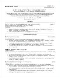 Undergraduate Student Resume Sample Interesting Undergraduate Resume Format Undergraduate Resume Sample Resume