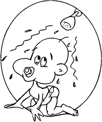 baby shower coloring pages baby shower coloring page free printable coloring pages