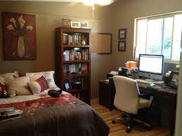 spare bedroom office ideas. Spare Bedroom Office Design Ideas Furniture In Combo Small Feng Shui Window Behind Desk Luxury Home