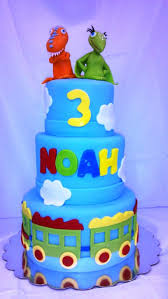 35754365 Dinosaur Train Cake My Tasty Creations Trains Birthday