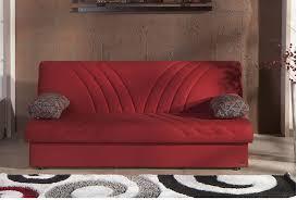 max naturale red convertible sofa bed