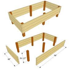 garden bed plans. Delighful Plans Intended Garden Bed Plans I
