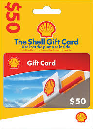 Shell - $50 Gift Card