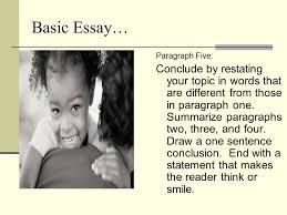 Being different essay