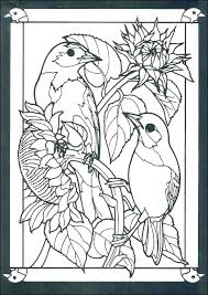Stained Glass Coloring Printable Stained Glass Coloring Sheets Pages