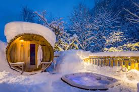 hot tubs in the snow gallery