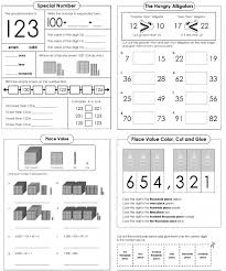 Base 3 Number System Chart Place Value Worksheets