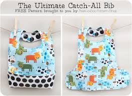 Free Sewing Patterns For Baby Gorgeous Free Sewing Pattern Ultimate Baby Bib I Sew Free