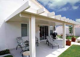 aluminum patio cover kits solid roof
